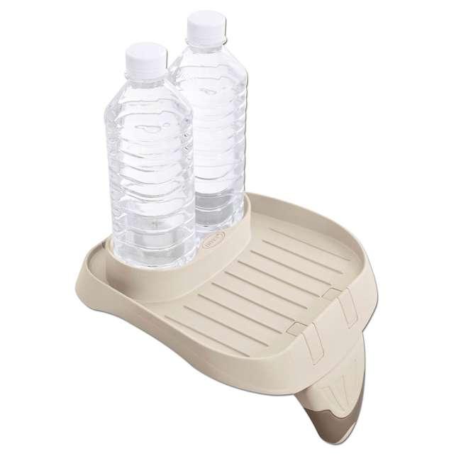 28505E + 28407E + 28500E Intex 28407E Pure Spa 4 Person Inflatable Hot Tub With Headrest And Cup Holder 2