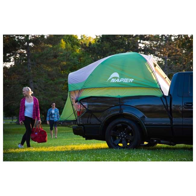 13100 + PPI PV202C Napier BackRoadz 13100 SUV and Minivan Tent w/ GreenAirBedz Inflatable Pickup Truck Air Mattress 9
