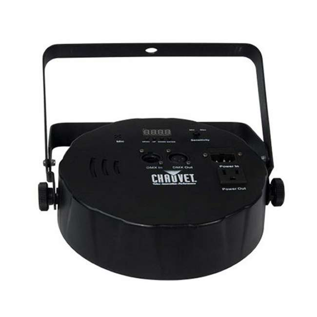 SLIM-PAR64 + DMX3P25FT Chauvet Slimpar 64 LED Slim Style Par Can DJ Stage Light + 25' DMX Cable 3