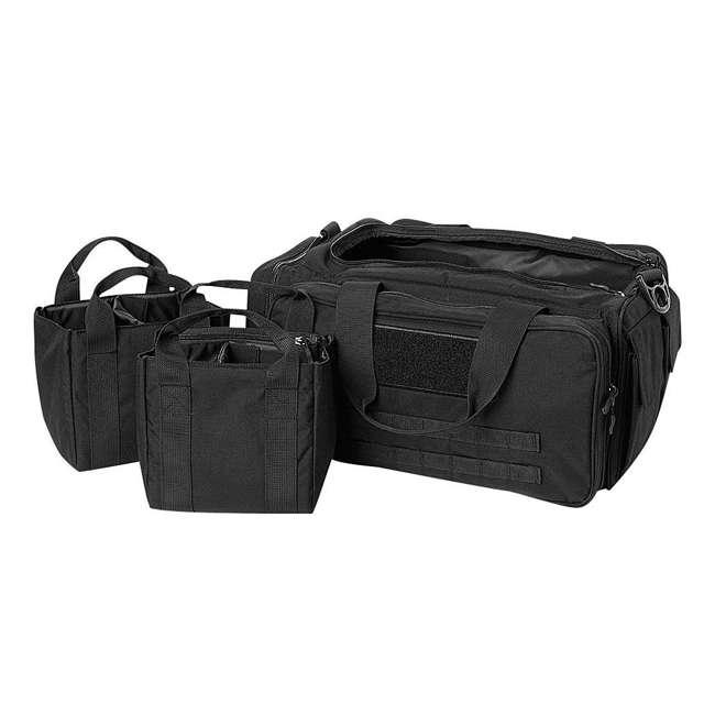 CPG-DB-CTD-M-B Cannae Pro Gear 500D Nylon 60-Liter Transport Duffle Bag, Black
