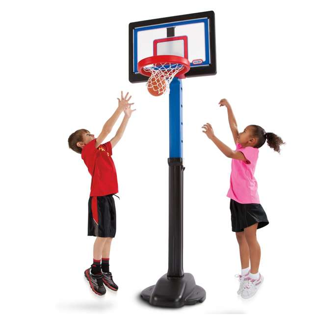 632594-U-C Little Tikes Play Pro Kids Play Toy Portable Basketball Hoop Set (For Parts) 4