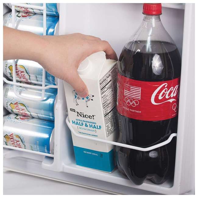 CCRD32B Commercial Cool Compact Portable 2-Door Refrigerator/Freezer (Black) 2