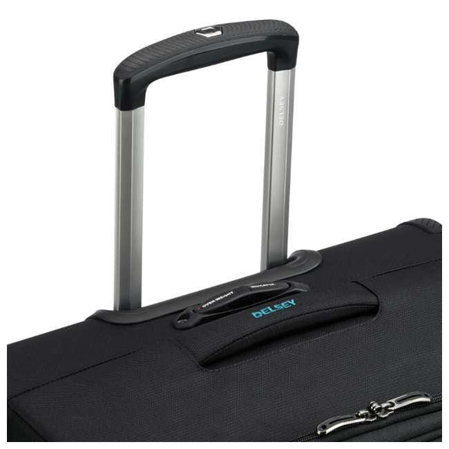 """40229182000 DELSEY Paris 25"""" Expandable Spinner Upright Hyperglide Luggage Suitcase, Black 5"""