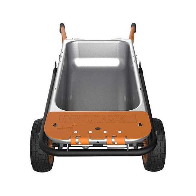 WG050-U-C Worx WG050 Aerot 8-In-1 Wheelbarrow Dolly t Garden rier - Missing Wheel 9