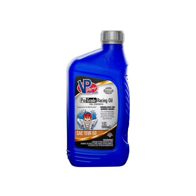 4 x 2755 VP Racing Fuels Full Synthetic Pro Grade Racing Oil, 1 Quart 15W-50 (4 Pack) 1