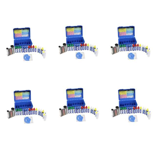 6 x K2006 Taylor K2006 2000 Swimming Pool Chlorine pH Alkaline Water Test Kit (6 Pack)