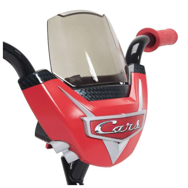 22449 Huffy 22449 12-Inch Single Speed Disney-Pixar Cars Bike for Ages 3 to 5, Red 2