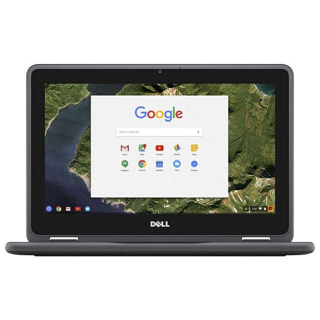 2NN30-C Dell 3189 11.6-Inch HD IPS Touchscreen Chromebook (Manufacturer Refurbished) 2