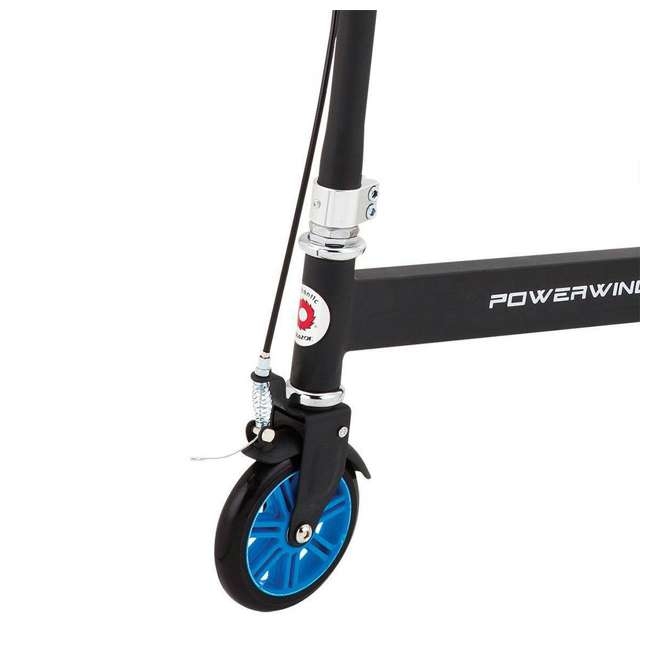 20036003 Razor PowerWing 3 Wheel Dual Inclined Caster Powered Side to Side Scooter, Blue (2 Pack) 4