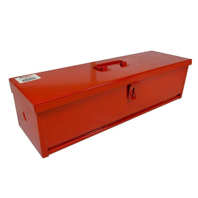 RE-102420 20-Inch Portable Mounting Tool Box for Vehicles, Red