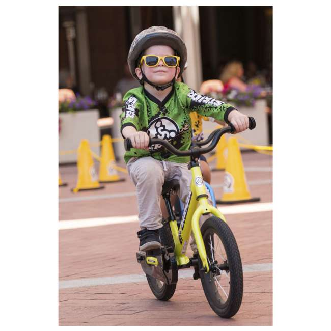 SK-SP1-US-GN Strider 14x 2-in-1 Kids Balance to Pedal Bike Kit, Green 2