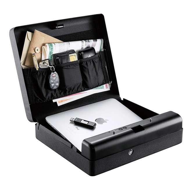 MVB1000 Gunvault Biometric MicroVault XL 1000 Portable Fingerprint & Key Gun Safe Box 3