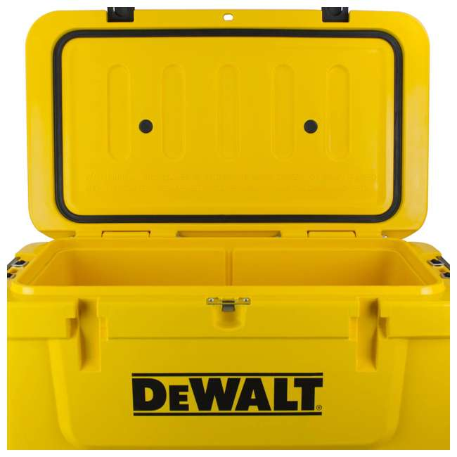 DXC65QT DeWalt 65 Quart Insulated Lunch Box Drink Cooler Roto Molded Portable, Yellow 2