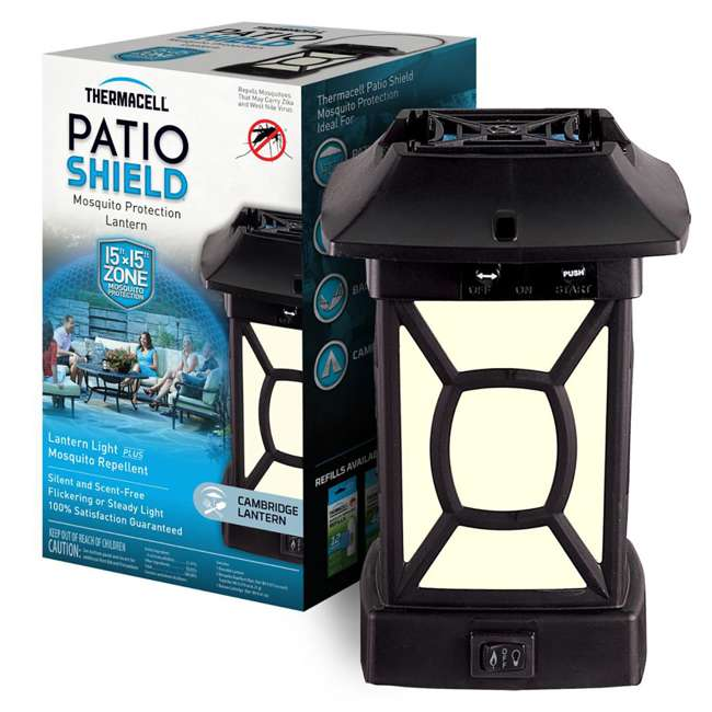 MR9W Thermacell Cambridge Outdoor Mosquito Repeller Lantern 2