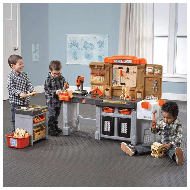 489099 Step2 Pro Play Kids Workshop and Utility Bench 2