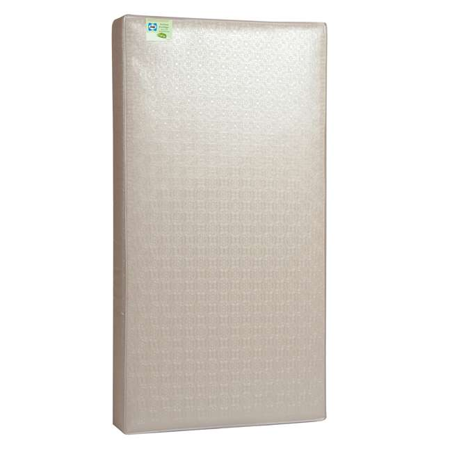 04565-50F + EM712-PHN1 Thomasville Kids Willow Crib, Pebble Gray & Sealy Soybean Mattress  2