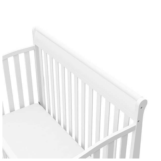 04530-661 Graco Stanton 4-in-1 Convertible Crib, White 4