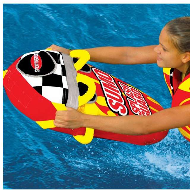 3 x 53-1807 Airhead SPORTSSTUFF Sumo & Splash Guard 1 Rider Towable (3 Pack) 3