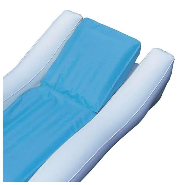 15090B Swimline Inflatable SunSoft Hybrid Lounge Ride-On Swimming Pool Float 4