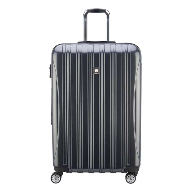 07649PL DELSEY Paris Helium Aero Expandable Rolling Carry On Luggage Suitcase, Gray 1