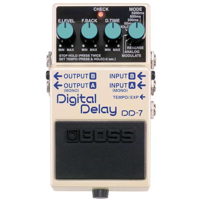 4 x DD-7 Boss DD-7 Digital Delay Effects Guitar and Bass Pedal (4 Pack) 2