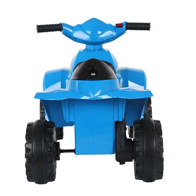 ACQUAD-B Rollplay 6 Volt Battery Powered Charging Toddler Kids Mini Quad Ride-on, Blue 2
