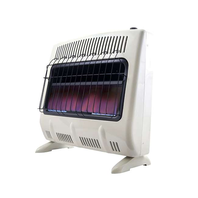 MH-F299731 Mr Heater 30000 BTU Blue Flame Natural Gas Indoor Heater (Open Box) (2 Pack) 1