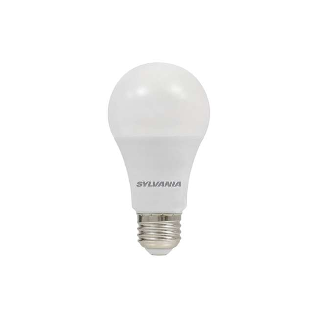 3 x SYL-74426 SYLVANIA Ultra 75W Equivalent 12W Dimmable A19 LED Bulb, Bright White (3 Pack) 1