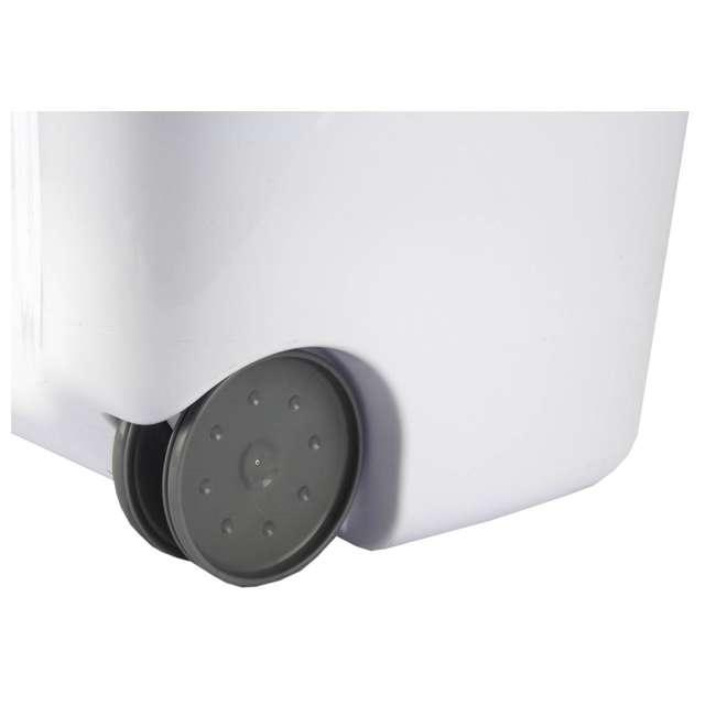 12228003-U-A Sterilite 12228003 Portable Wheeled Laundry Hamper-Open Box                3