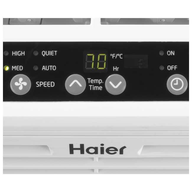 ESAQ406T-U-B  Haier Serenity Series 6,000 BTU 3 Speed Window Air Conditioner(Used) (2 Pack) 7