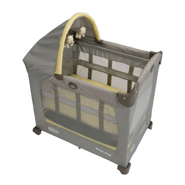 1843727 Graco Baby Travel Lite Portable Crib with Stages & Bassinet - Peyton | 1843727