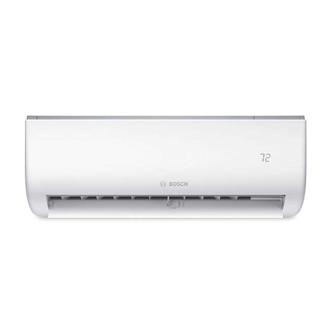 8733942695 + 8733942696 + 8733951010 Bosch Climate 5000 Mini Split Air Conditioner Heat Pump System, 9,000 BTU 230V 1