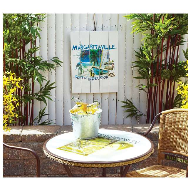4 x RIOPSSR115-MV Margaritaville Outdoor Port of Indecision Sign, White (4 Pack) 2