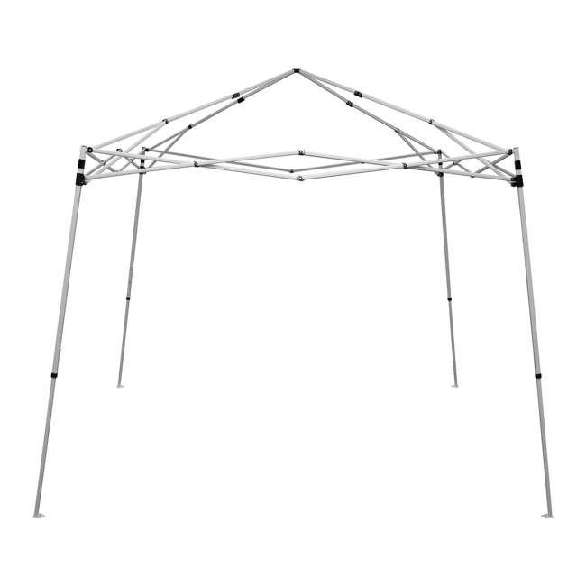 CVAN21007800010 Caravan Canopy V-Series 2 10' x 10' Angled Leg Canopy, White (2 Pack) 2
