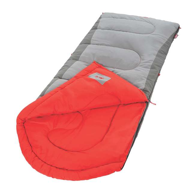 2000018130 Coleman Dexter Point 50-Degree Tall User Sleeping Bag