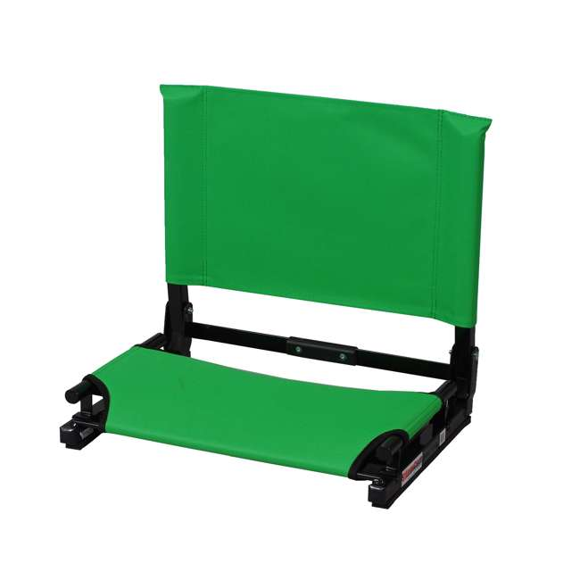 SC2-KELLY Stadium Chair Game Changer Bleacher Seat, Kelly Green (2 Pack) 1