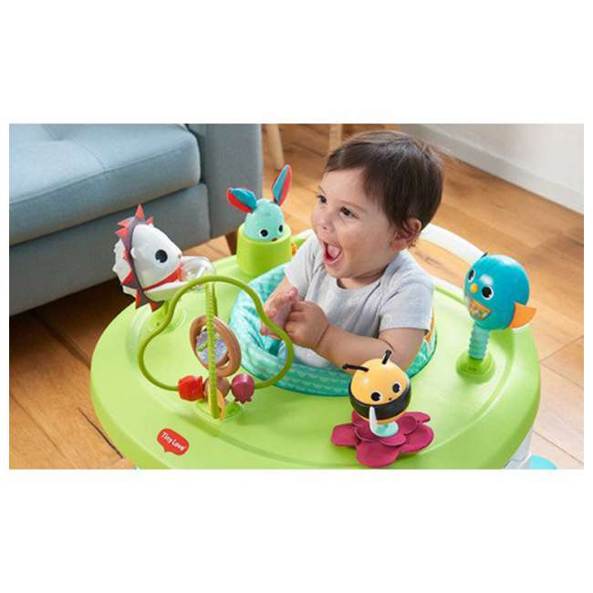 WA077ETT Tiny Love Meadow Days 4 in 1 Here I Grow Baby Mobile Activity Center, Green 3