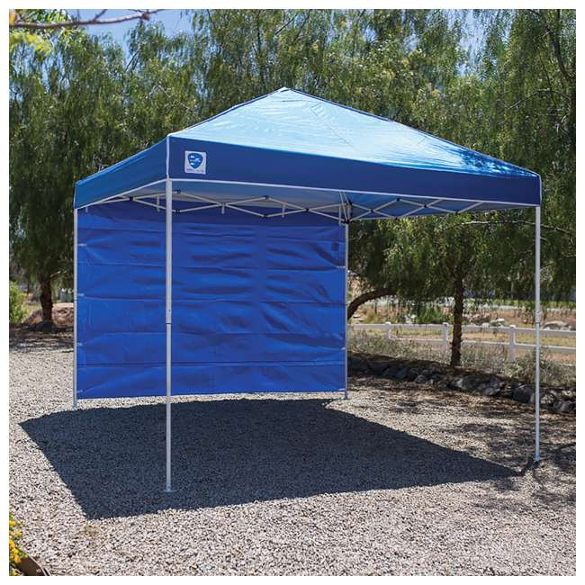 3 x ZS10EVRTSWBL Z Shade 10ft Blue Everest Instant Canopy Tent Taffeta Sidewall Accessory(3 Pack) 2