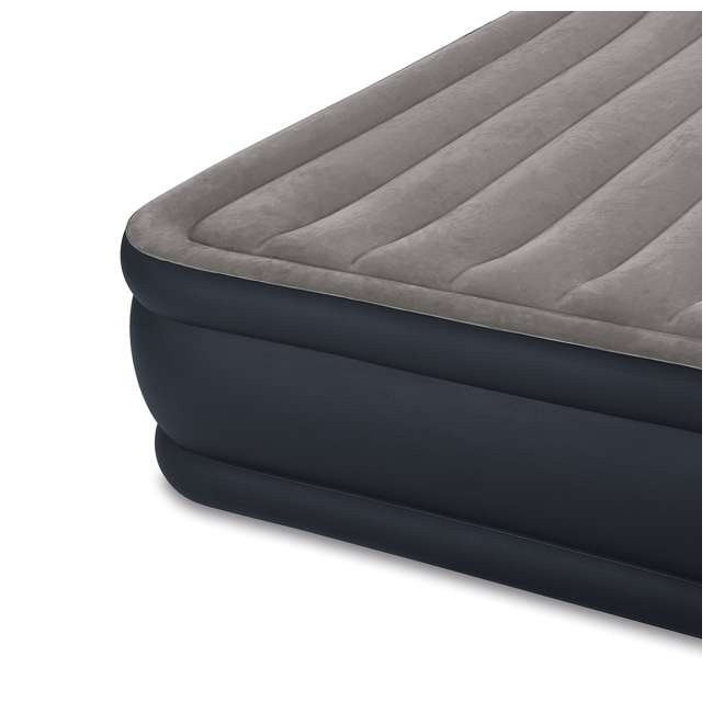 3 x 64135EP Intex Deluxe Raised Air Mattress w/ Built-In Pump, Queen (3 Pack) 3