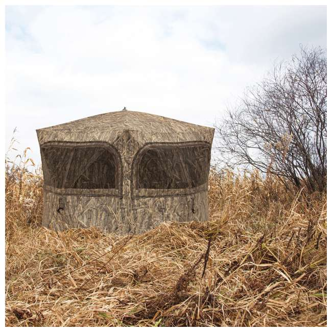 BARR-GR351BB Barronett Grounder 350 Bloodtrail Blades Lightweight Pop Up Ground Hunting Blind 1