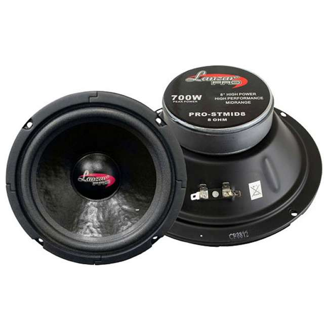 PROSTMID8 Lanzar PROSTMID8 8-Inch 1400W Midrange Pro Speakers (Pair)