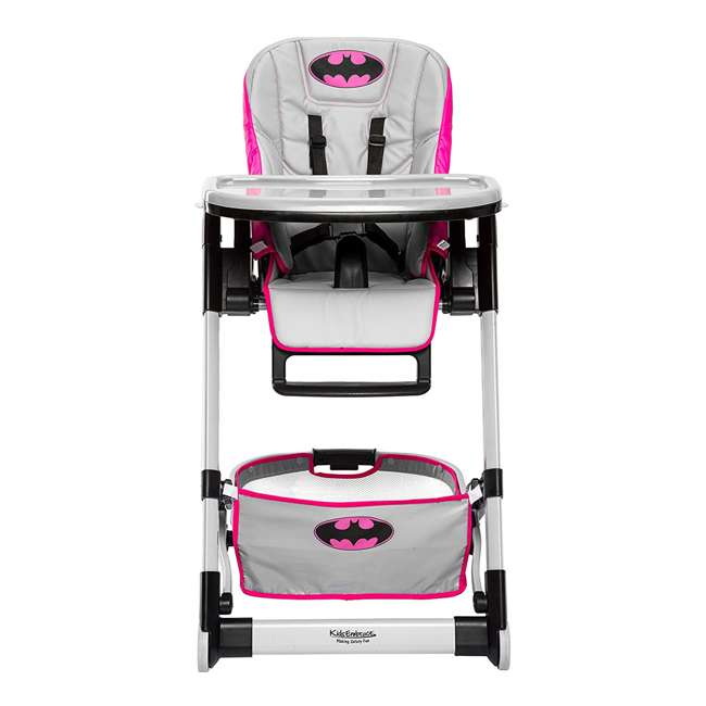 KE-6601BTG Kids Embrace DC Comics Batgirl Deluxe High Chair 6