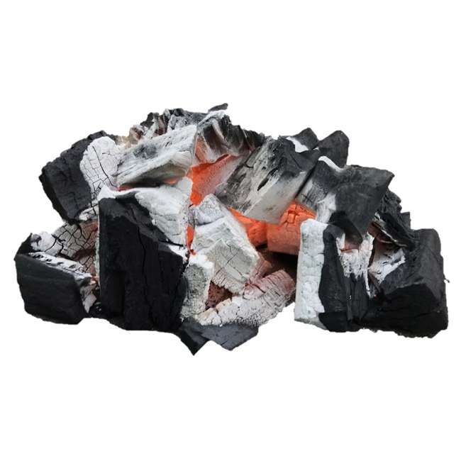 HAXLWC33 Harder Charcoal Natural XL Restaurant Style Lump Charcoal, 33 LB Bag (2 Bags) 4