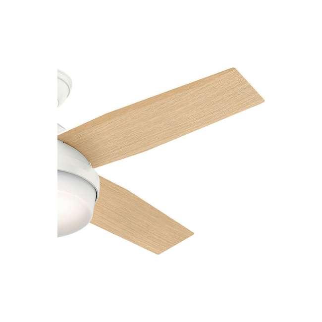 59242 Hunter Fan Company 59242 Dempsey 52 Inch Low Profile Ceiling Fan and Remote, Oak 3