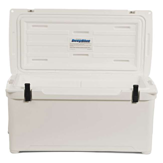 ENG85-CW-U-B Engel Coolers 76 Quart 96 Can Roto Molded Cooler, Coastal White (Used) 4