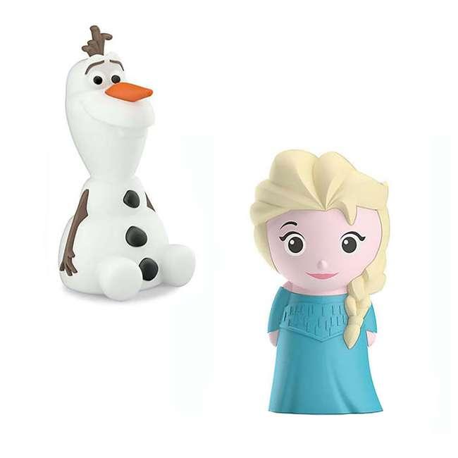 PLC-799965 + PLC-7176803U0 Philips Disney Frozen Olaf and Elsa Kids Soft Pals Nightlight Friend