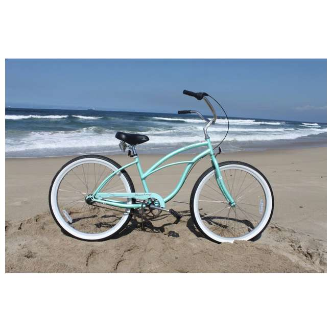 "14602-FM Firmstrong Urban Lady Women's 26"" 3-Speed Cruiser Bike, Mint 5"