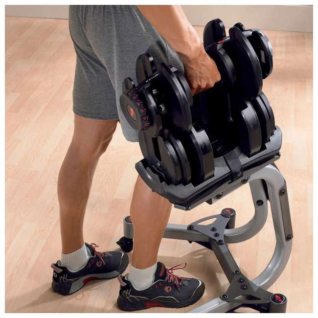 3 x BOWFLEX-001-4551-U-A Bowflex 1090 Workout Dumbbell w/Adjustable Weight (Open Box) (Single) (3 Pack) 2