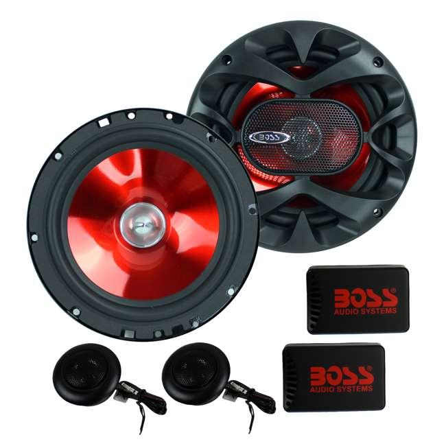 6 x CH6CK Boss 6.5-Inch 350 Watt Component Speaker Systems (6 Pack) 1
