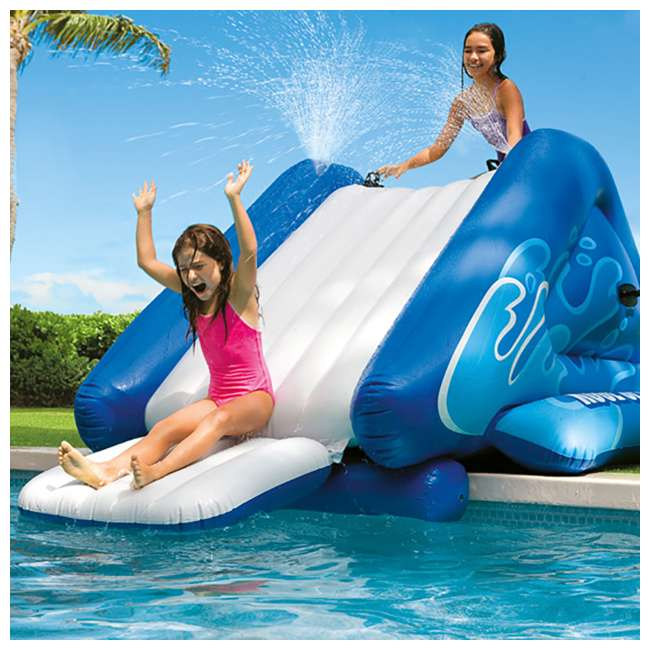 58849EP Intex Kool Splash Inflatable Play Center Swimming Pool Water Slide Accessory 3